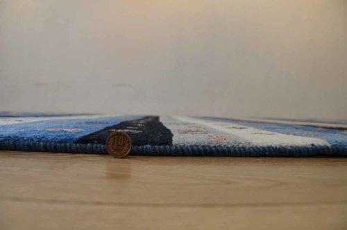 詳細の写真1: カシュクリ/リビングラグサイズ222×165cm
