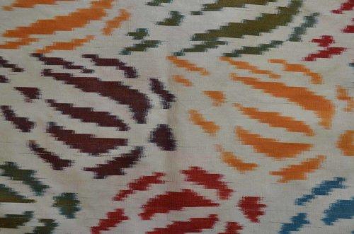 詳細の写真2: スザーニ&イカットクッションカバー約60×40cm