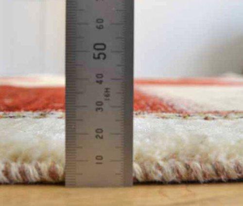 詳細の写真1: カシュクリ/リビングラグサイズ209×206cm