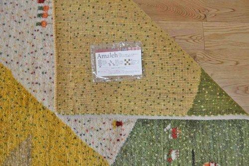 詳細の写真3: アメレ/アクセントラグサイズ150×100cm